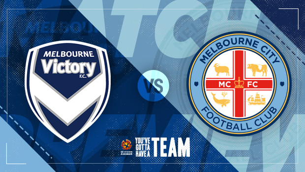 Melbourne Victory VS Melbourne City