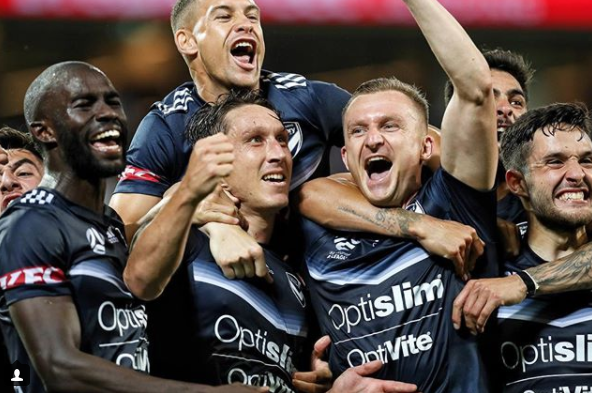 Melbourne Victory (Foto: Instagram chronis71)