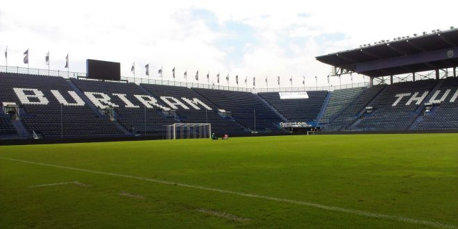 Buriram United Thunder Castle pinterest futboldesdeasia