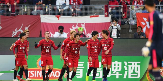 Serginho Asian Journey Kashima Antlers the afc futboldesdeasia